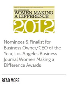 Women Making a Difference Awards Article